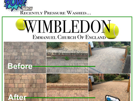 We are Pressure Washing Wimbledon