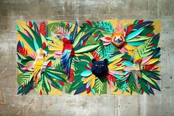 Kağıt Sanatı ve Tropik Renkler Diyarı