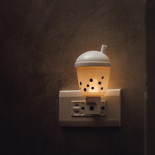 插座式小夜燈- 珍奶 bubble tea