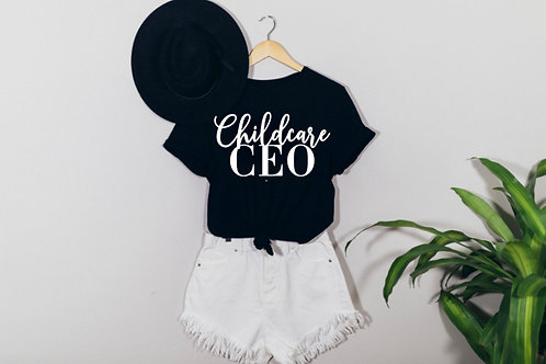 Childcare CEO tee