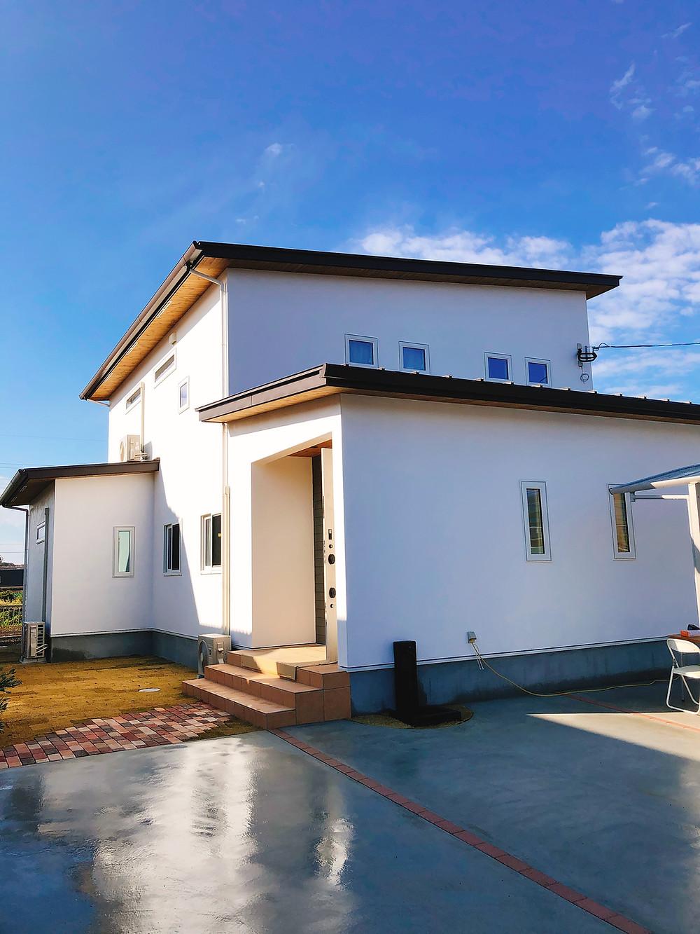 雲仙市愛野町2世帯住宅の家