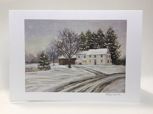 Snow Squall- Greeting Card