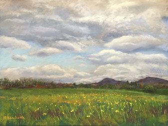 Landscape Painting In Spring: Tips For Using Green