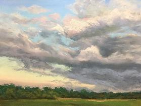 Pastel Landscape Painting Meg Bandarra