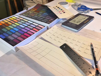 How-To Make A Color Swatch Chart