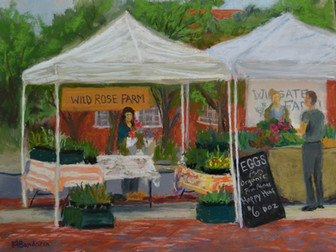 Painting Stories- Tuesday Market