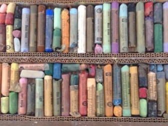 Used and Vintage Pastels