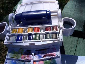 My Plein Air Painting Supplies