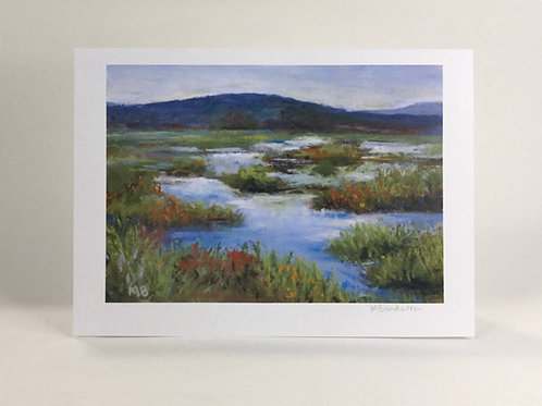 Brookfield Marshlands- Greeting Card