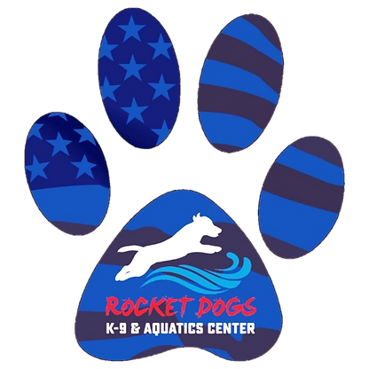 Rocket Dogs K-9 Aquatics & Wellness Center Paw Logo