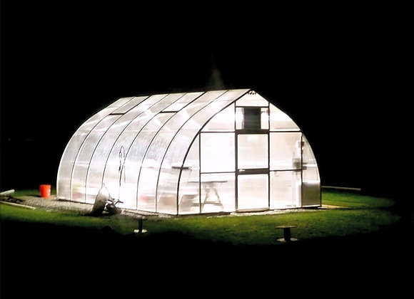 Riga XL 7 Greenhouse (23 ft L x 14 ft W x 10 ft H)