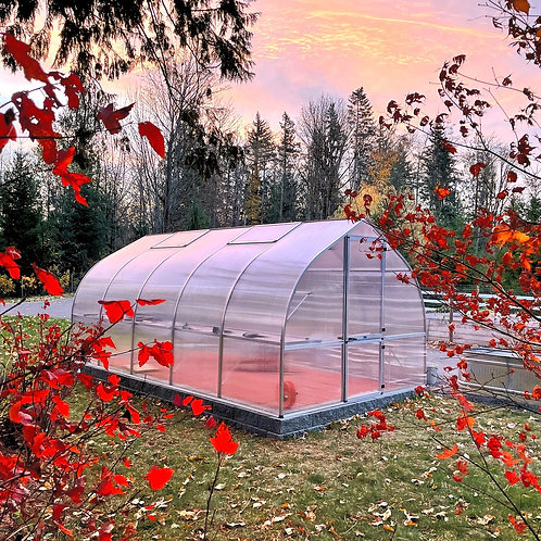 Hoklartherm Riga 5 Greenhouse (18 ft L x 10 ft W x 8 ft H)