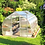Thumbnail: Hoklartherm Riga 4 Greenhouse (14 ft L x 10 ft W x 8 ft H)