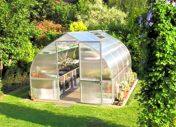 Riga 4 Greenhouse (14 ft L x 10 ft W x 8 ft H)