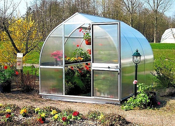 Hoklartherm Riga 3 Greenhouse ( 11 ft L  x 10 ft W x 8 ft H)