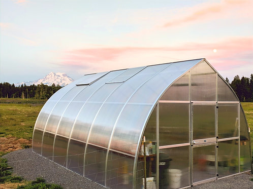 Hoklartherm Riga XL 6 Greenhouse (20 ft L x 14 ft W x 10 ft H)