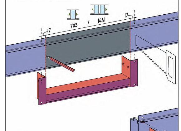 Sliding Door Low Threshold Kit