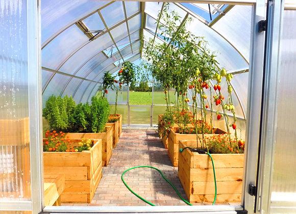 Riga XL 8 Greenhouse (26 ft L x 14 ft W x 10 ft H)