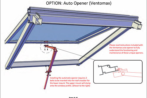 Automatic Opener for Roof Window