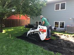 patio excavation