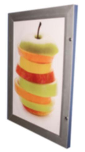 LED Lightbox, LED Lightbox Manufacturer, Back-lit LED Lightbox, Side-lite LED Ligthbox, Menu Box, Trough Lighting, Clip Frame Lightbox, Snap frame lightbox, illuminated box, Tamperproof Frame, Snap Frame, lockable frame