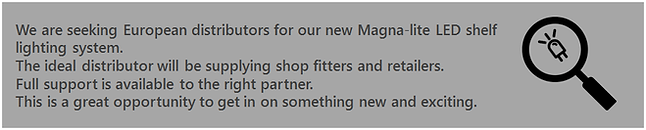 Magna-lite LED Shelf Lighting - Seeking European Distributors.