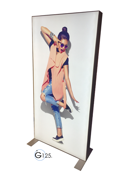 Galaxy Lightbox Manufacturer, LED Lightbox, Lightbox Manufacturer, UK Manufacturer, Tension Fabric Lightbox, flex faced lightbox manufacturer, lightbox manufacturer, LED UK, Galaxy 125
