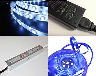 LED Components, LED Flexistrip, Drivers, Power Supplies