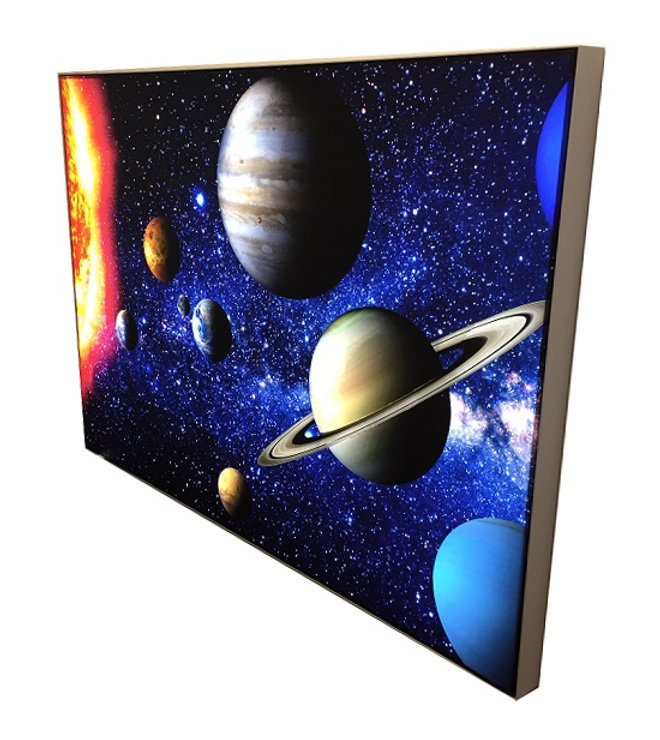 Galaxy Lightbox Manufacturer, LED Lightbox, Lightbox Manufacturer, UK Manufacturer, Tension Fabric Lightbox, flex faced lightbox manufacturer, lightbox manufacturer, LED UK, Galaxy 38