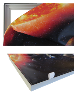 Galaxy 75, Fabric LED Lightbox, Faric Lightbox maunufacturer, UK Lightbox manufacturer, Galaxy manufa