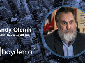 Hayden AI Names Andy Olenik, Former Microsoft Sales Director, as Chief Revenue Officer