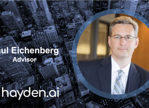 Hayden AI Welcomes Paul Eichenberg, Former Magna Executive, to Advisory Board