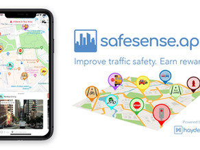 Hayden AI Releases Safe Sense: A New App for Reporting Traffic Safety Violations