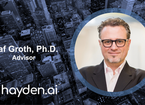 Hayden AI Welcomes Olaf Groth, Ph.D., Global Strategy, Innovation, and Venture Development Expert