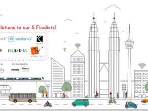 Hayden AI Selected by Toyota Mobility as Finalist for City Architecture for Tomorrow Challenge!
