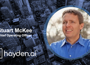 Hayden AI Welcomes Stuart McKee, Former Microsoft Executive, as Chief Operating Officer