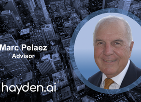 Hayden AI Welcomes Marc Pelaez, Rear Admiral United States Navy (Retired), to Advisory Board
