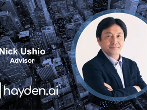 Hayden AI Welcomes Nick Ushio, International Technology Center Principal, to Advisory Board