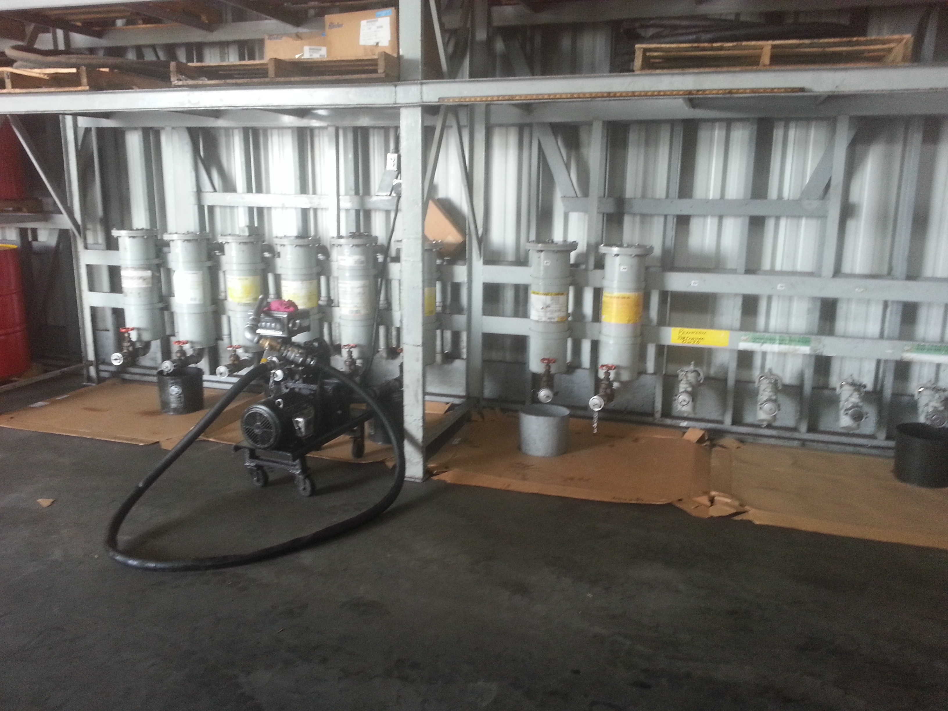 Oil Dispensing System