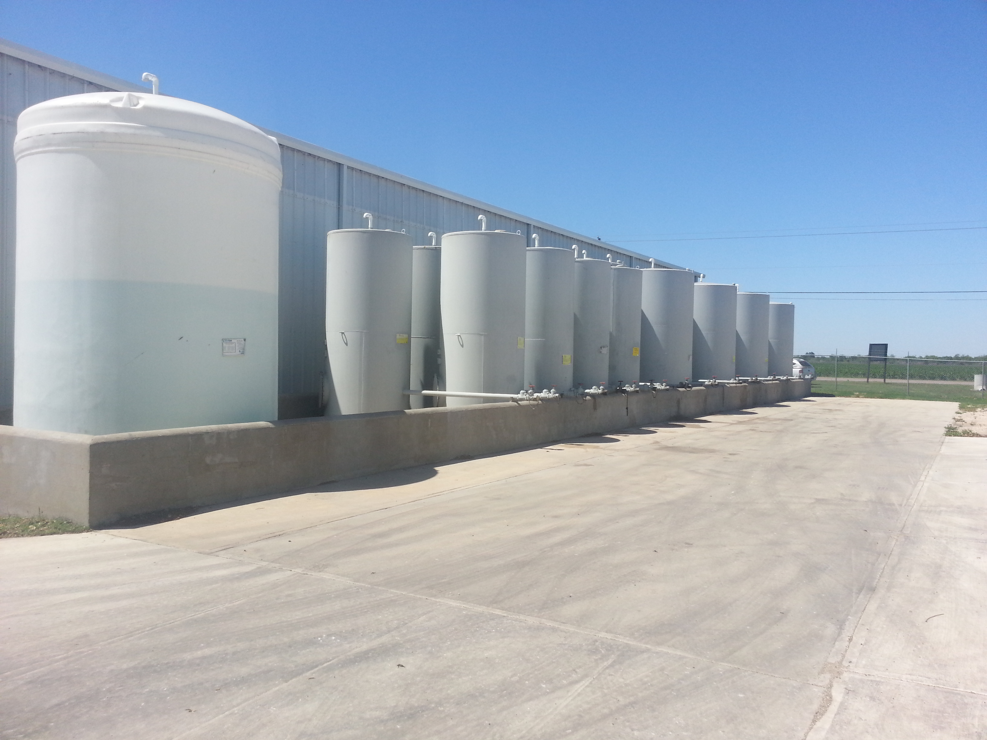 DEF and Lubricant Tanks