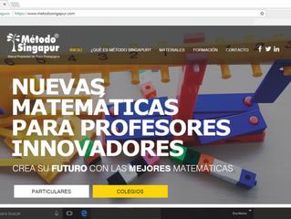"""Nuevo portal-web sobre """"Método Singapur ®"""" WWW.METODOSINGAPUR.ES"""