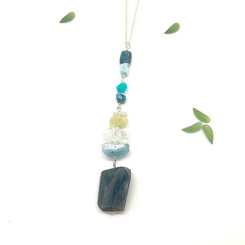 FRIDA Labradorite Drop Necklace