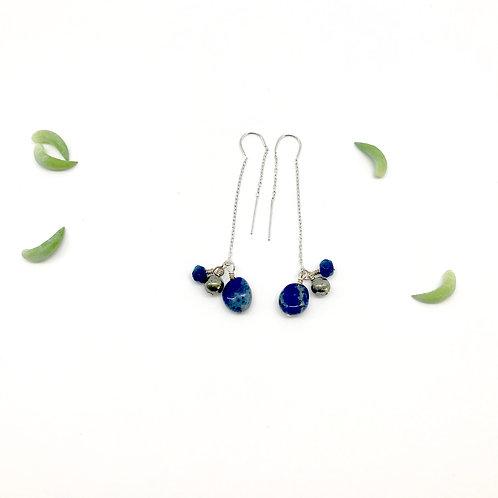 LILY Lapis Lazuli Earthreads