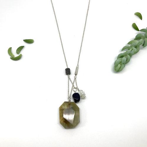 PIPER Beryl Morganite Necklace