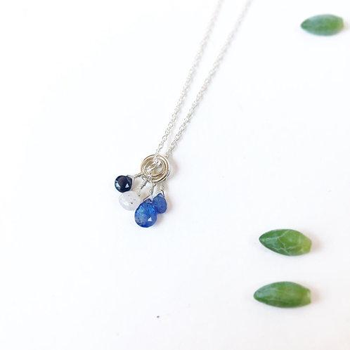 CAMILLE Tanzanite Drop Necklace
