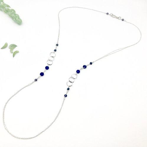 INES  Lapis Lazuli XLong Necklace