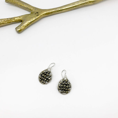 JOSEPHINE Pyrite Earrings
