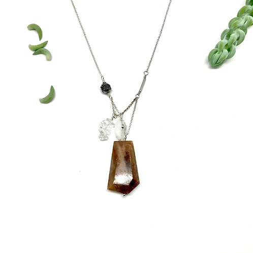 PIPER Sunstone Necklace