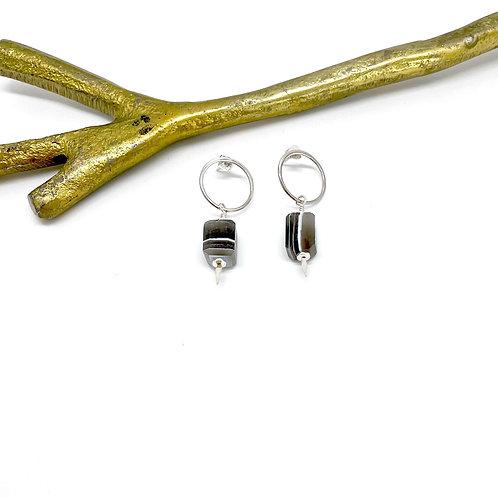 HARRY Boulder Opal Post Earrings