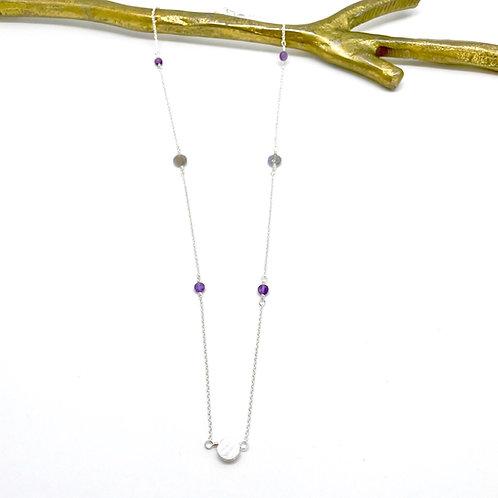 VIVIAN Amethyst Necklace